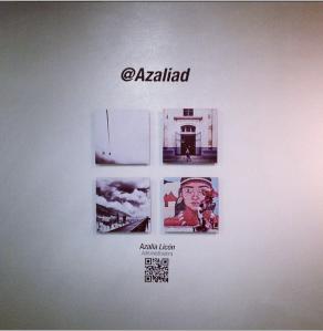 Mis fotografías en la exposición