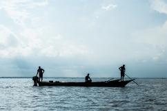 Pesca en el Sur del Lago de Maracaibo