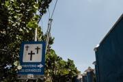 Señalamiento Institucional del Cementerio de Los Extranjeros