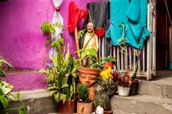 Llama la atención el sincretismo religioso presente en la Comunidad de El Calvario, ubicada en la parroquia El Hatillo del estado Miranda, Venezuela. Photowalk organizado por VAEArts y la alcaldía de El Hatillo, en el marco de la actividad cultural #ElCalvarioPuertasAbiertas y el programa cultural Vive El Hatillo.