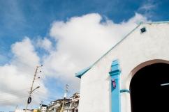 Detalle de la Capilla de El Calvario, primer monumento católico e la zona y dónde inicia el recorrido por la Comunidad de El Calvario, ubicada en la parroquia El Hatillo del estado Miranda, Venezuela. Photowalk organizado por VAEArts y la alcaldía de El Hatillo, en el marco de la actividad cultural #ElCalvarioPuertasAbiertas y el programa cultural Vive El Hatillo.